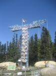100 ft. Bungee Jump Tower at Mt. Hood Adventure Park at SkiBowl