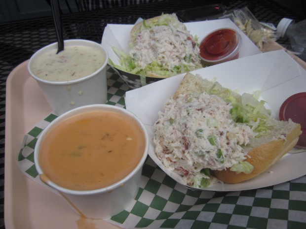Pike's Place Chowder and Crab Roll