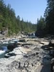 Upper McDonald Falls, Glacier National Park