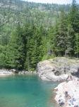Pristine Blue Water at Glacier National Park