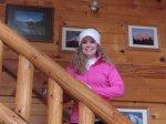 Inside Mount Hood View Cabin