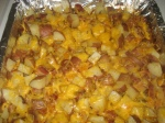 Spicy Chopped Potatoes - Post Bake