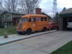 Decked out Bronco's van
