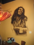 Bob Marley Mural at 8 Rivers