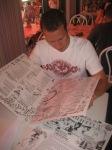Huge menu at Serendipity 3