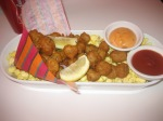 Popcorn shrimp at Serendipity 3