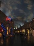 Blue skies in Forum Shops
