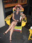 Beach chairs at Margaritaville