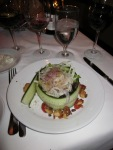 Salad at Top of the World Restaurant