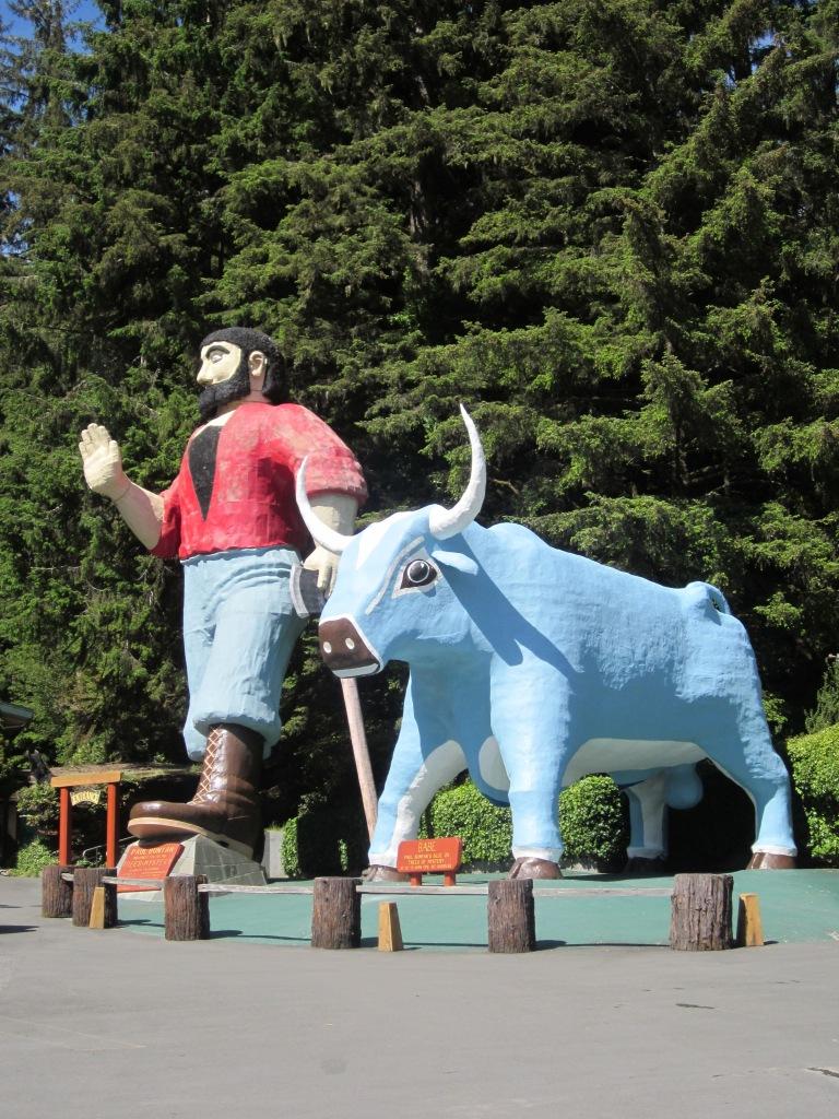 Paul Bunyon & The Blue Ox