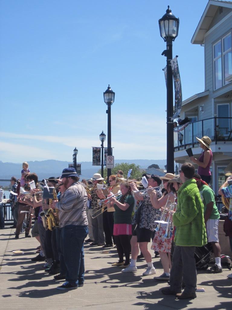 Band at Eureka Boardwalk
