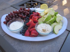 Fruit Dip Trifecta
