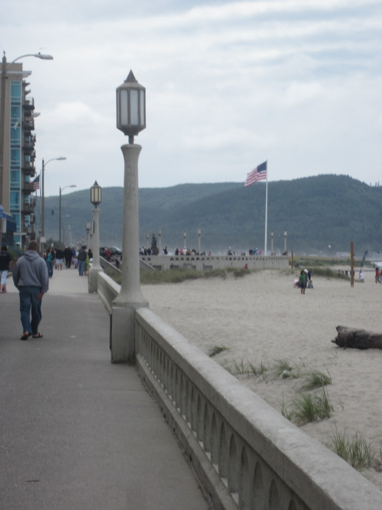 The Boardwalk at Seaside, OR