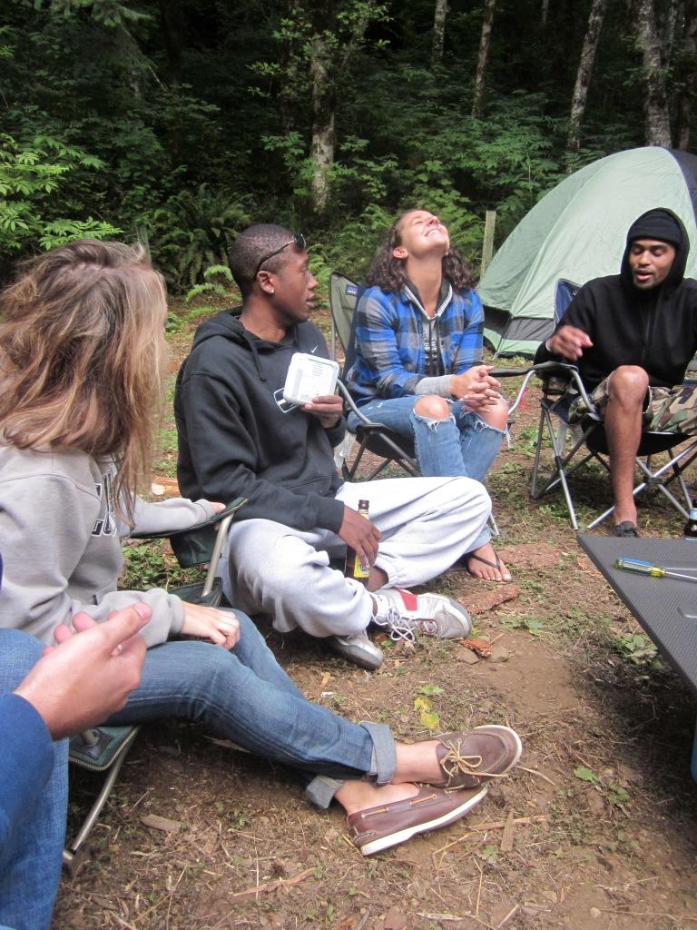 Catch Phrase - Spruce Run Campground Oregon