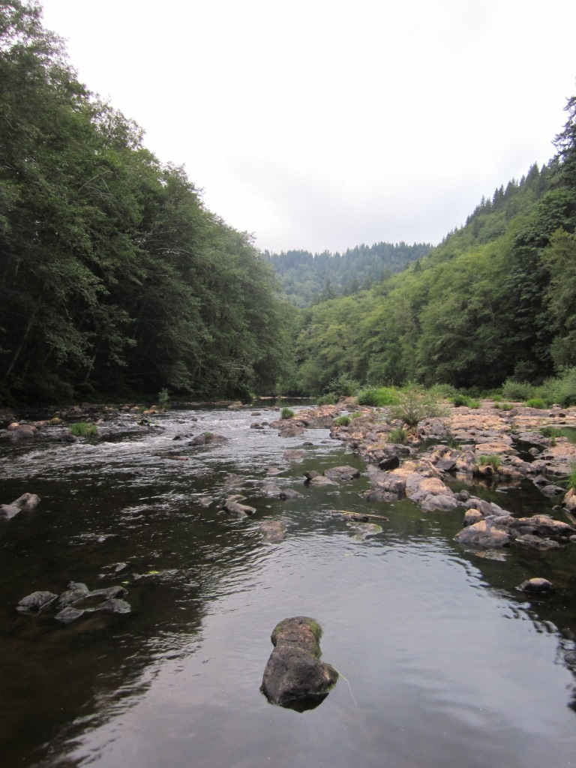 Nehalem River - Spruce Run Campground Oregon