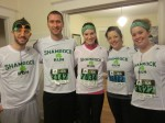 Shamrock Runners Before Race