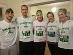 Shamrock Runners Before Race