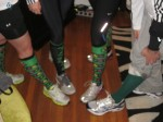Socks for Shamrock Run