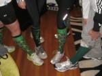 Socks for Shamrock Run