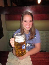 Helles Beer at Gustavs