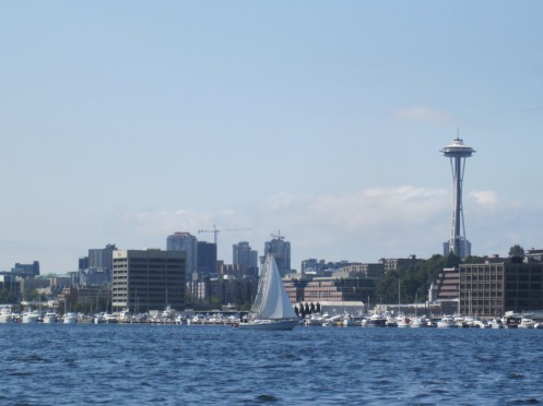 View from Seattle Duck Tour