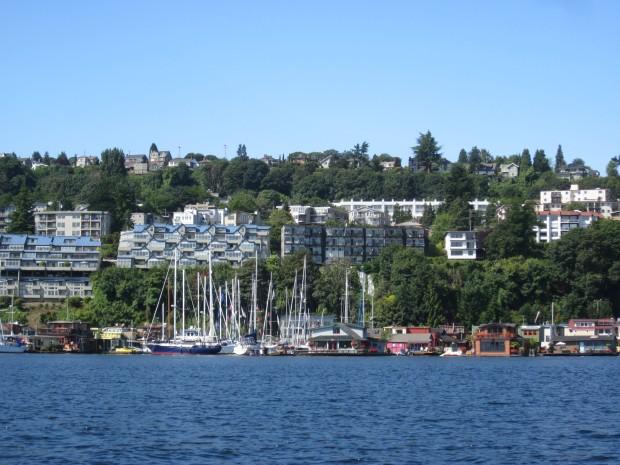 Sleepless in Seattle houseboat