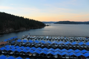 View from Coeur D'Alene Resort Room
