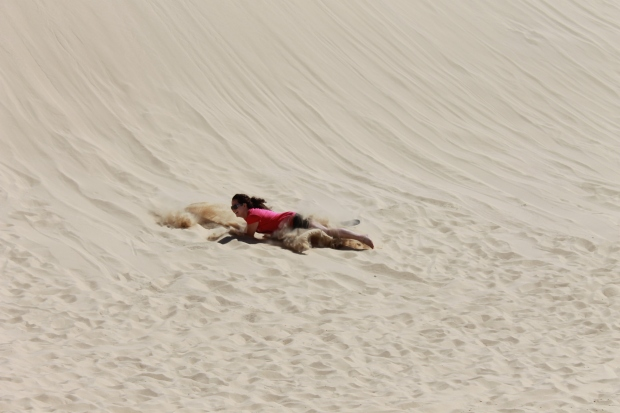 Crashing on sandboard